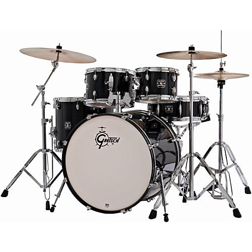 Gretsch Drums Energy 5-Piece Drum Set with Hardware and Sabian SBR Cymbal Pack