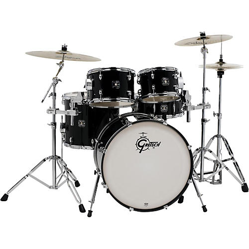 gretsch drums energy 5 piece drum set with zildjian cymbals. Black Bedroom Furniture Sets. Home Design Ideas
