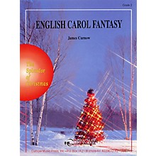Curnow Music English Carol Fantasy (Grade 2 - Score and Parts) Concert Band Level 2 Composed by James Curnow