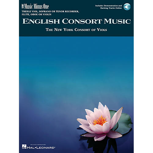 Music Minus One English Consort Music Music Minus One Series Softcover with CD  by Various-thumbnail