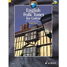 Schott English Folk Tunes for Guitar (28 Traditional Pieces) Guitar Series Softcover with CD