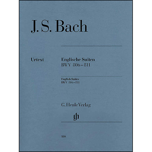 G. Henle Verlag English Suites BWV 806-811 By Bach-thumbnail