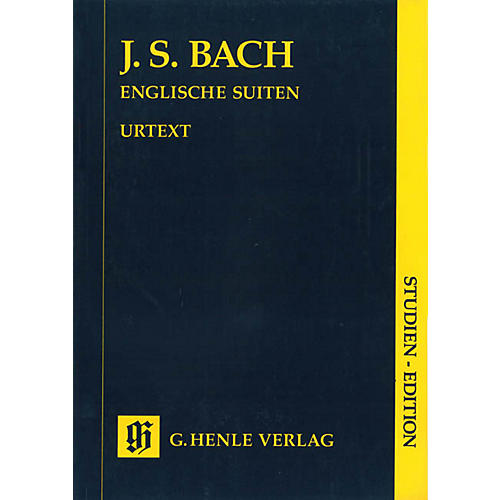 G. Henle Verlag English Suites BWV 806-811 (Study Score) Henle Study Scores Series Softcover-thumbnail