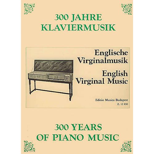 Editio Musica Budapest English Virginal Music EMB Series Composed by Various-thumbnail