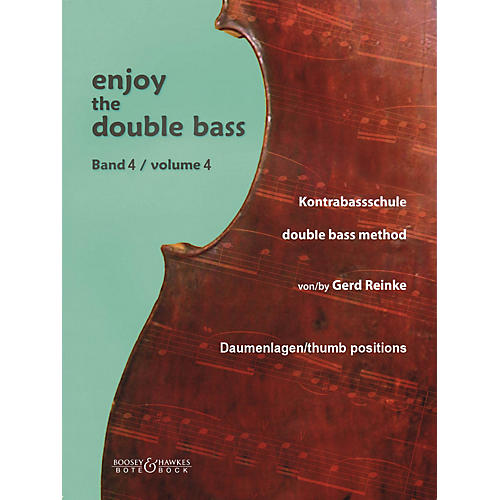 Bote & Bock Enjoy the Double Bass Series Softcover Written by Gerd Reinke-thumbnail