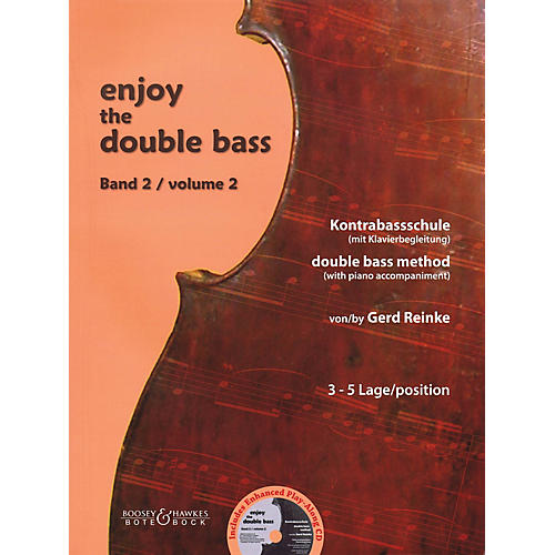 Bote & Bock Enjoy the Double Bass Series Softcover with CD Written by Gerd Reinke-thumbnail