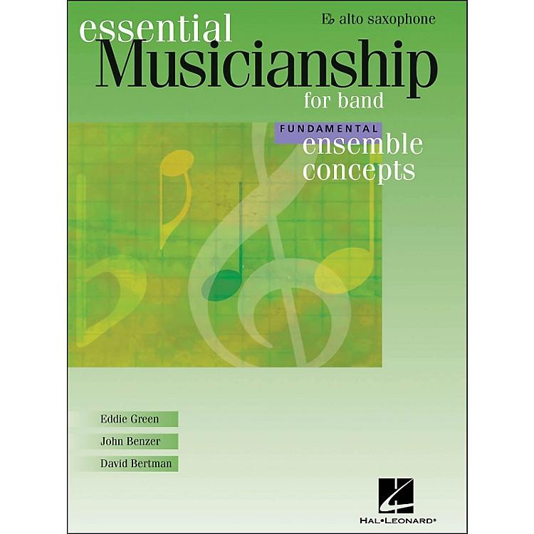 Hal LeonardEnsemble Concepts for Band - Fundamental Level Alto Sax