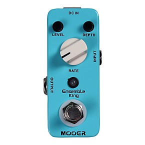 mooer ensemble king analog chorus guitar effects pedal musician 39 s friend. Black Bedroom Furniture Sets. Home Design Ideas