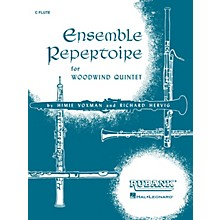 Rubank Publications Ensemble Repertoire for Woodwind Quintet Ensemble Collection Series Composed by Various