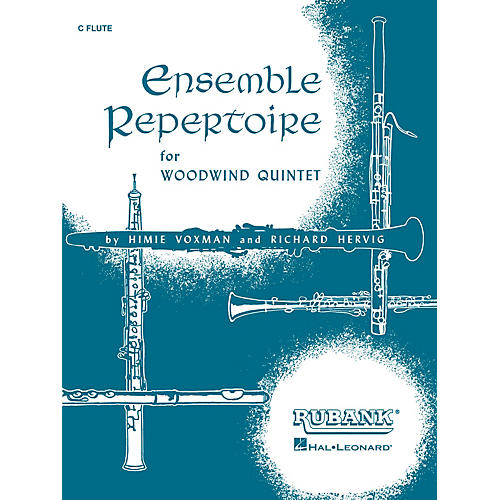 Rubank Publications Ensemble Repertoire for Woodwind Quintet Ensemble Collection Series Composed by Various-thumbnail
