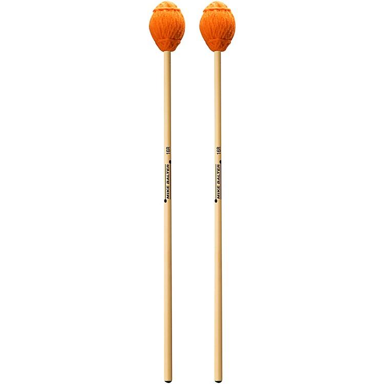 Mike BalterEnsemble Series Rattan Marimba Mallets16 Orange Yarn Extra Soft