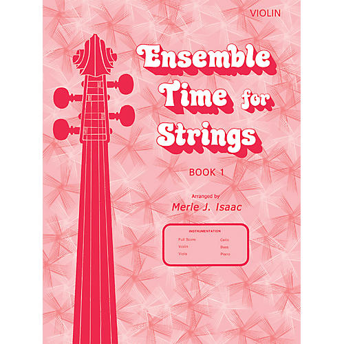 Alfred Ensemble Time for Strings Book 1 Violin-thumbnail