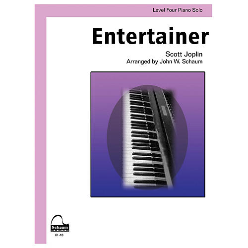 SCHAUM Entertainer Educational Piano Series Softcover