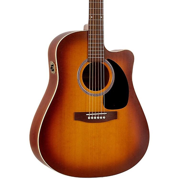 SeagullEntourage Rustic CW QIT Acoustic-Electric GuitarRustic