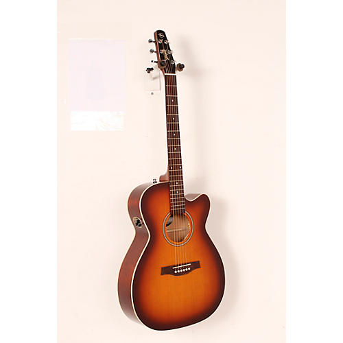 Seagull Entourage Rustic Concert Hall CW QIT Acoustic-Electric Guitar-thumbnail