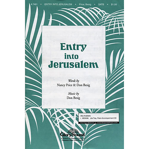 Hal Leonard Entry Into Jerusalem SATB
