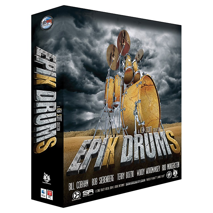 Sonic Reality EpiK DrumS - A Ken Scott Collection DVD Edition