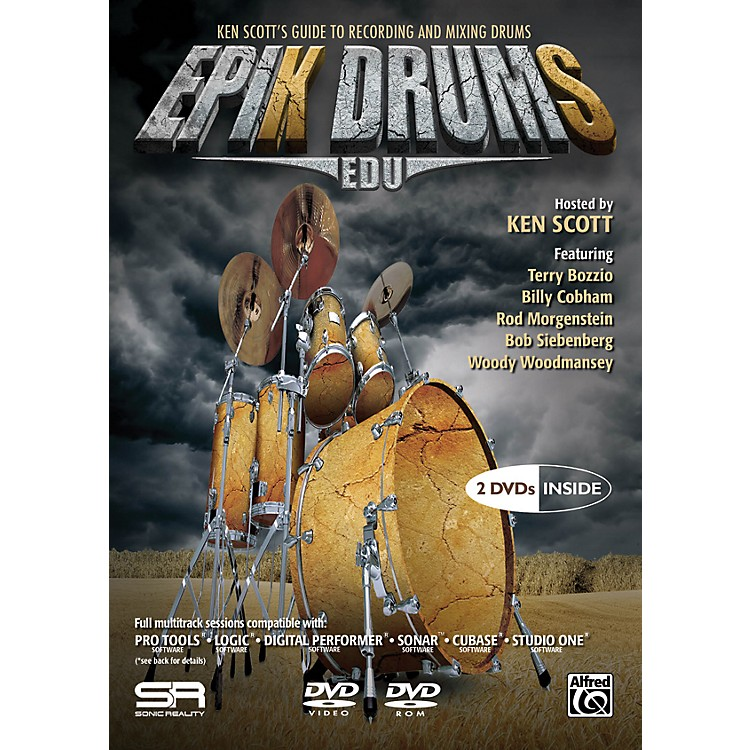 Alfred EpiK DrumS EDU by Ken Scott 2 DVDs