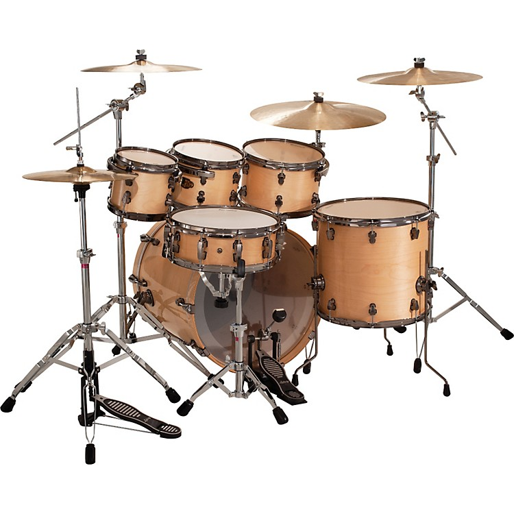 Ludwig Epic Funk 6-Piece Shell Pack Transparent Black