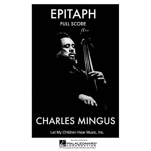 Jazz Workshop Inc. Epitaph (Complete - Full Score) Jazz Band Level 4 Composed by Charles Mingus-thumbnail