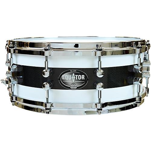 Dixon Equator Series Maple/Carbon Fiber Snare Drum
