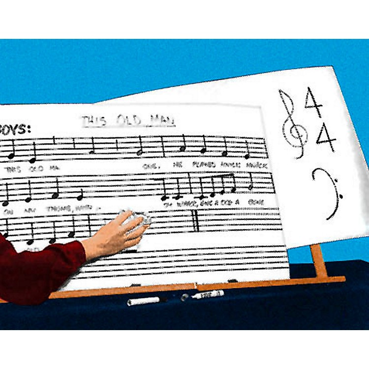 Hal LeonardErasable Music Chart Boards (6 Pack)