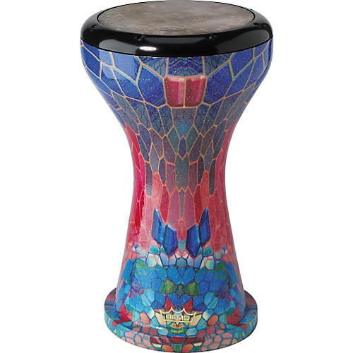 Remo Ergo-Drum Doumbek Fabric Sapphire 9 in.