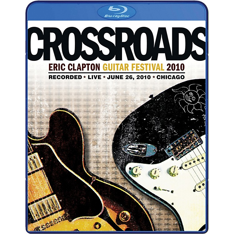 WEA Eric Clapton - 2010 Crossroads Guitar Festival DVD or Blu-Ray Video