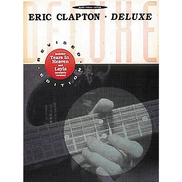 Hal Leonard Eric Clapton - Deluxe Piano, Vocal, Guitar Songbook
