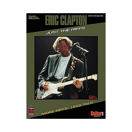 Cherry Lane Eric Clapton - Just the Riffs Book