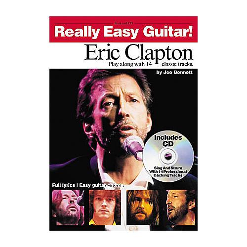 Hal Leonard Eric Clapton - Really Easy Guitar (Book/CD)-thumbnail