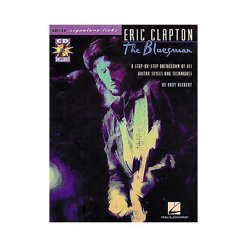 Hal Leonard Eric Clapton - Selections from Blues (Book/CD)-thumbnail