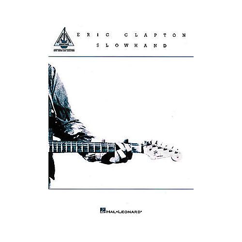 Hal Leonard Eric Clapton - Slowhand Guitar Book-thumbnail