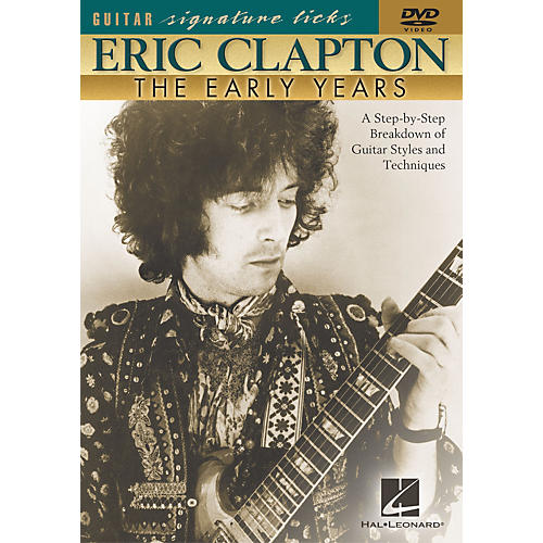 Hal Leonard Eric Clapton - The Early Years (DVD)