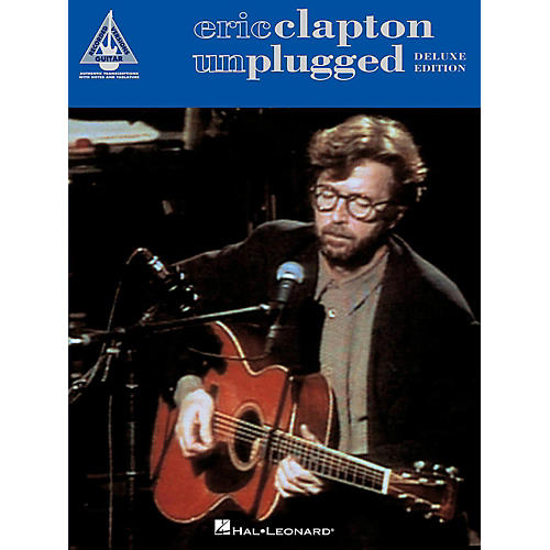 Hal Leonard Eric Clapton - Unplugged Deluxe Edition Tab Songbook-thumbnail