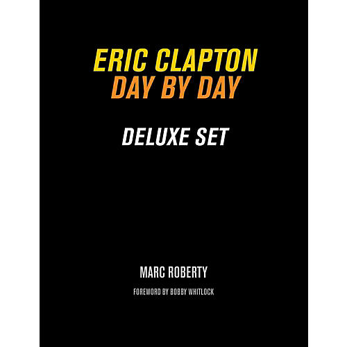 Backbeat Books Eric Clapton, Day By Day Deluxe Set Book-thumbnail