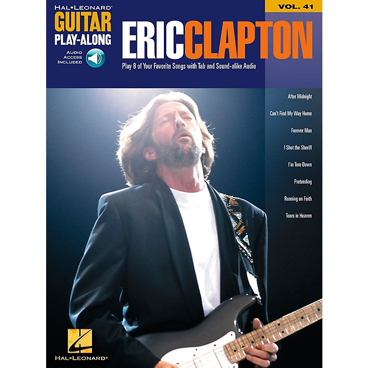 Hal Leonard Eric Clapton Guitar Play-Along Series Book with CD Vol. 41