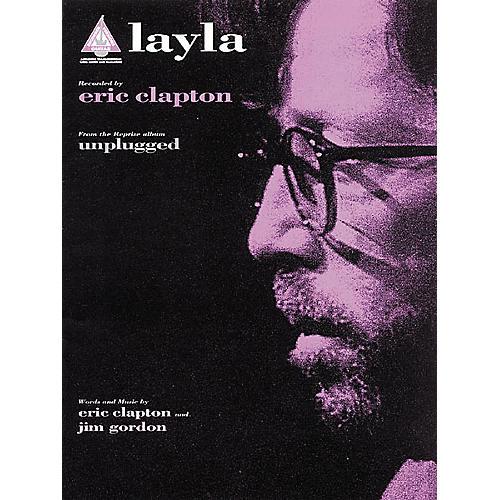 Hal Leonard Eric Clapton: Layla Guitar Sheet Music Book