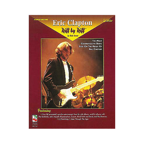 Hal Leonard Eric Clapton Riff By Riff Guitar Tab Book-thumbnail