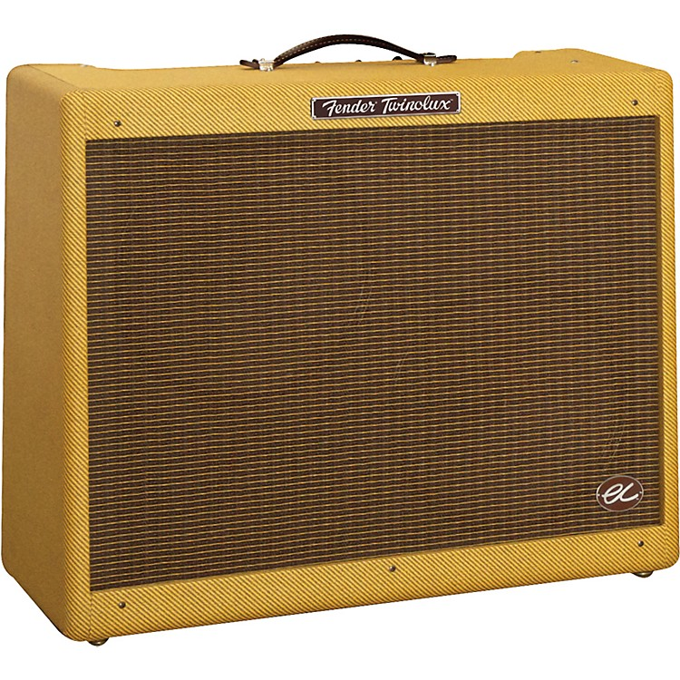 Fender Eric Clapton Signature 40W 2x12 Hand-Wired Tube Guitar Combo Amp Tweed TWEED