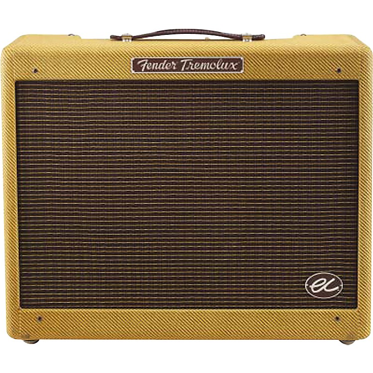 FenderEric Clapton Signature EC Tremolux 12W 1x12 Hand-Wired Tube Guitar Combo AmpTweed
