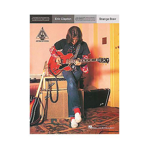 Hal Leonard Eric Clapton Strange Brew