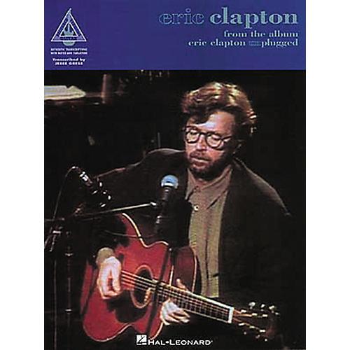 Hal Leonard Eric Clapton Unplugged Guitar Tab Book-thumbnail