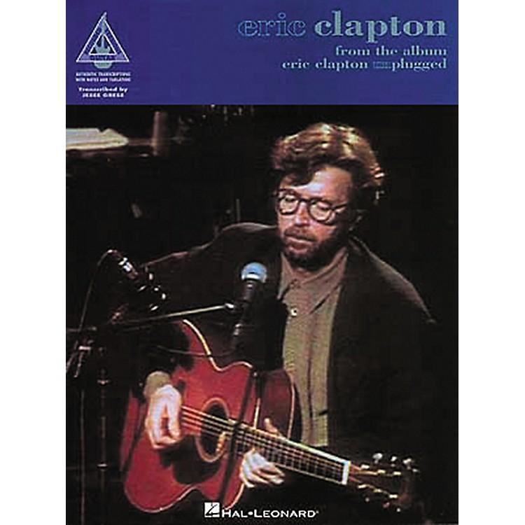 Hal LeonardEric Clapton Unplugged Guitar Tab Book