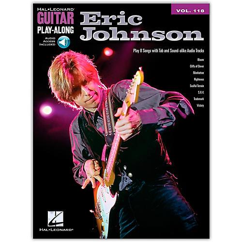 Hal Leonard Eric Johnson - Guitar Play-Along Volume 118 Book/CD