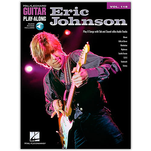 Hal Leonard Eric Johnson - Guitar Play-Along Volume 118 (Book/Online Audio)