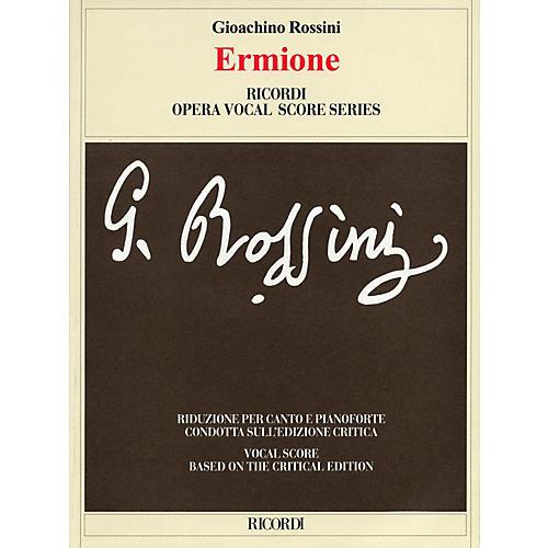 Ricordi Ermione (Critical Edition by Patricia B. Brauner and Philip Gossett) Opera Series by Gioachino Rossini-thumbnail