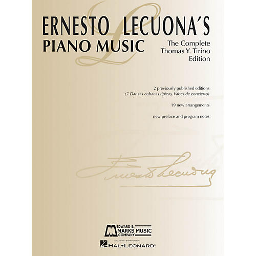 Edward B. Marks Music Company Ernesto Lecuona's Piano Music (The Complete Thomas Y. Tirino Edition) E.B. Marks Series Softcover-thumbnail