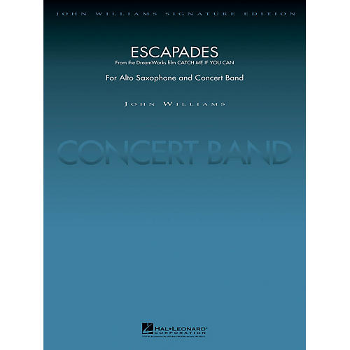 Hal Leonard Escapades (from Catch Me If You Can) Concert Band Level 5 Arranged by Stephen Bulla-thumbnail