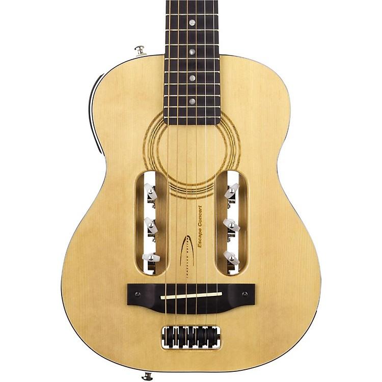 Traveler GuitarEscape Concert Steel-String Acoustic-Electric GuitarNatural